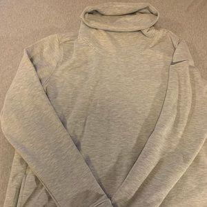Nike turtle neck hoodie